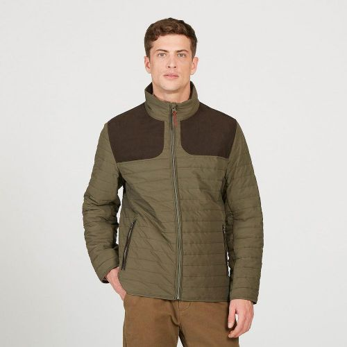Aigle Braisac Jacket: Bronze Green